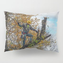 Tree Surgeon Pillow Sham