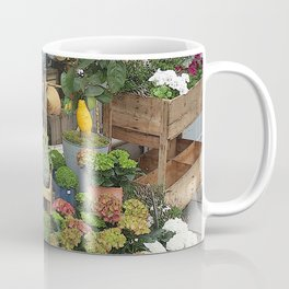 At the Florists III Coffee Mug