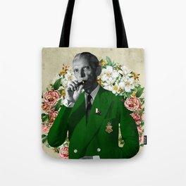 The wise & daper altruist, Muhammad Jinnah Tote Bag