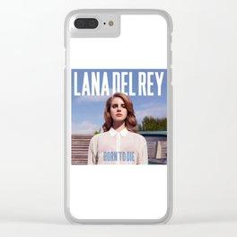 LANA DELREY Clear iPhone Case