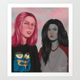Rules as bubbline  Art Print