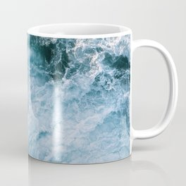 Wave in Ireland during sunset - Oceanscape Coffee Mug