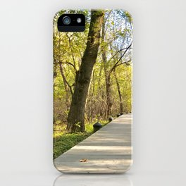 The Natural Path iPhone Case