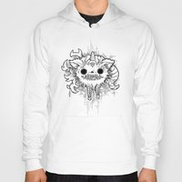 antler Hoodies featuring Antler Monster by tnelly