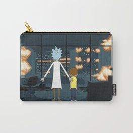 Morty and Rick Club Fight Carry-All Pouch