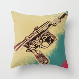 Pew! Pew! Throw Pillow