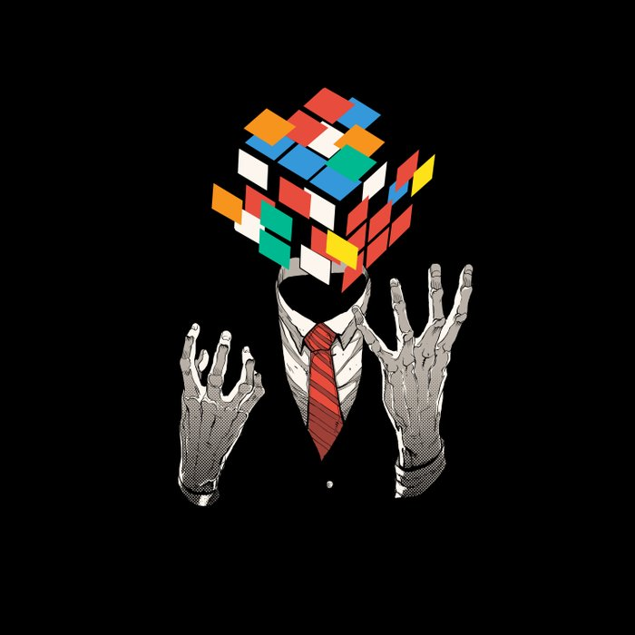 Mind Game Duvet Cover