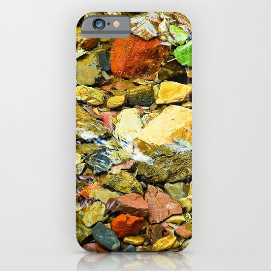 A Colorful Creek, Glacier National Park iPhone & iPod Case