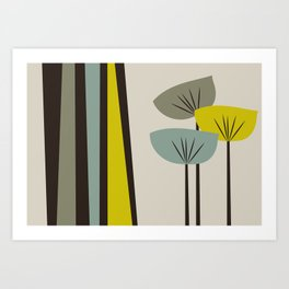 Retro Color 02 Art Print