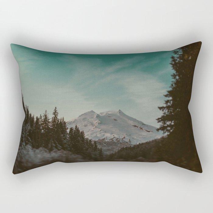 Mt. Baker Rectangular Pillow