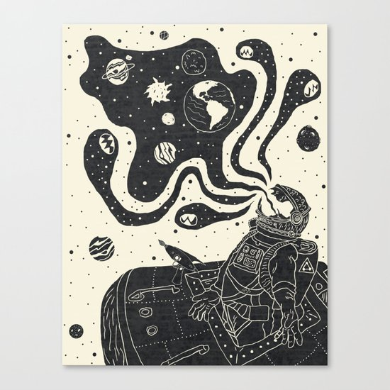 From the Void Canvas Print