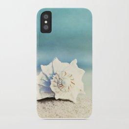 "Seashell on Beach Photography, ""Paradise"" iPhone Case"