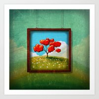 Through The Looking Glass - Hope Art Print
