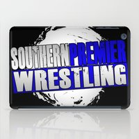 wrestling iPad Cases featuring Southern Premier Wrestling Logo by SPW Tees