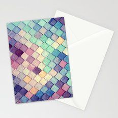Colored Pieces - for iphone Stationery Cards
