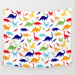 Colorful Dinosaurs Pattern Wall Tapestry