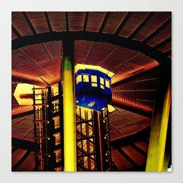 Space Needle Elevator Canvas Print