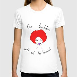 Revolution - bright red T-shirt