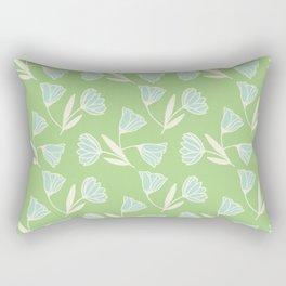 Flowers and wind Rectangular Pillow