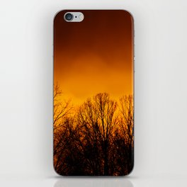 Too Close to the Fire iPhone Skin