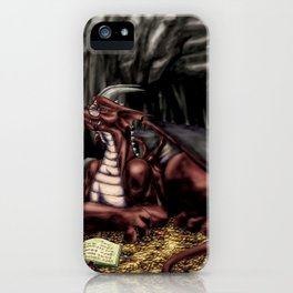 The Dragon's Cave iPhone Case