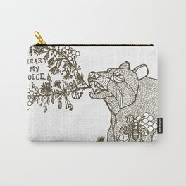 Hear My Voice Carry-All Pouch