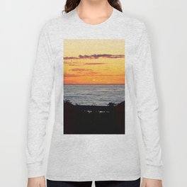 Sunset and the chairs Long Sleeve T-shirt