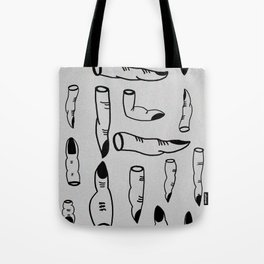 (yes) nail art Tote Bag