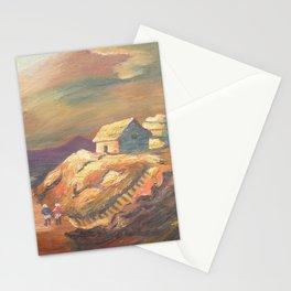 One Village Sunset Stationery Cards