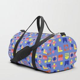 Geometry- pattern no1 Duffle Bag