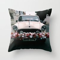 cuba Throw Pillows featuring cuba by Love Improchori