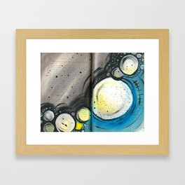 Spherical Framed Art Print