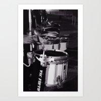 Drumline Art Print