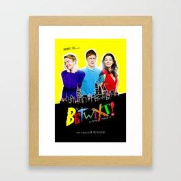 Betwixt! Art Work Framed Art Print