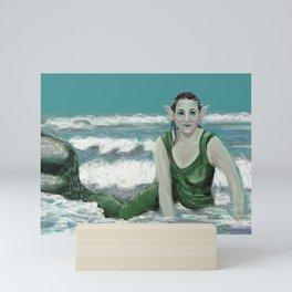 Ocean Mermaid Mini Art Print