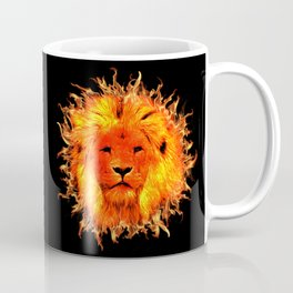 Fire Lion Coffee Mug