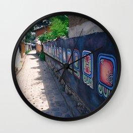 Guatemala - Nahual Street Art Wall Clock