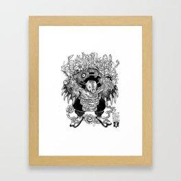 Mole Soul Framed Art Print