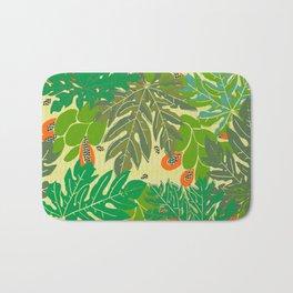 papaya trees Bath Mat
