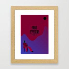 SHINee - Good Evening Framed Art Print