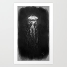 Jelly Woman Art Print