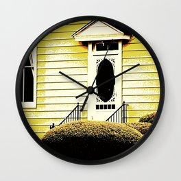 Front Door 927 Wall Clock