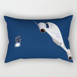 Space City Rectangular Pillow