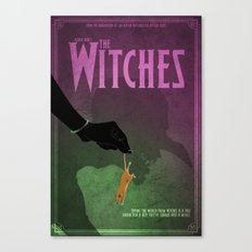 The Witches Poster Canvas Print