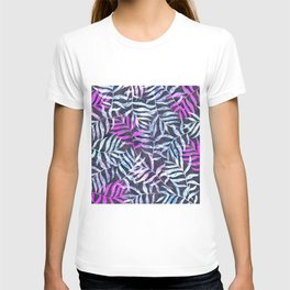 Watercolor Tropical Palm Leaves X T-shirt