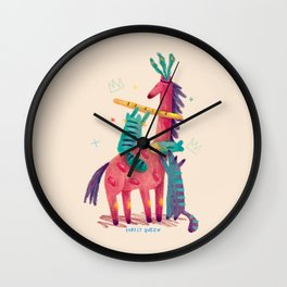 Forest Queen Wall Clock