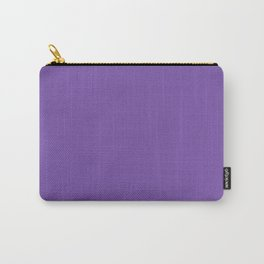Royal purple - solid color Carry-All Pouch