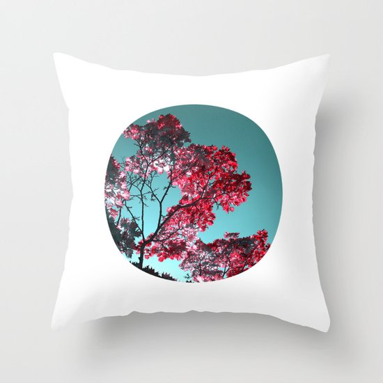 night colors II Throw Pillow