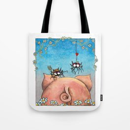 Spiderfarmer is looking for a wife Tote Bag