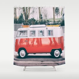 Combi car 4 Shower Curtain